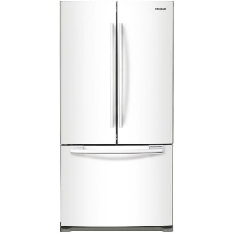Samsung | 18 Cu.Ft. French Door Refrigerator White