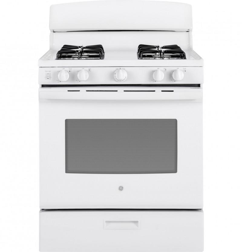 GE Appliances | White Gas Range
