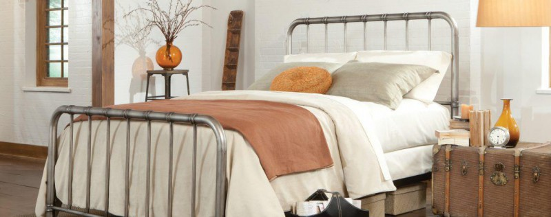 American Imports | TWIN BED TRISTEN PEWTER