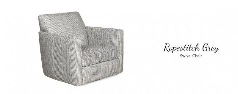 American Imports Stonewash Swivel Chair