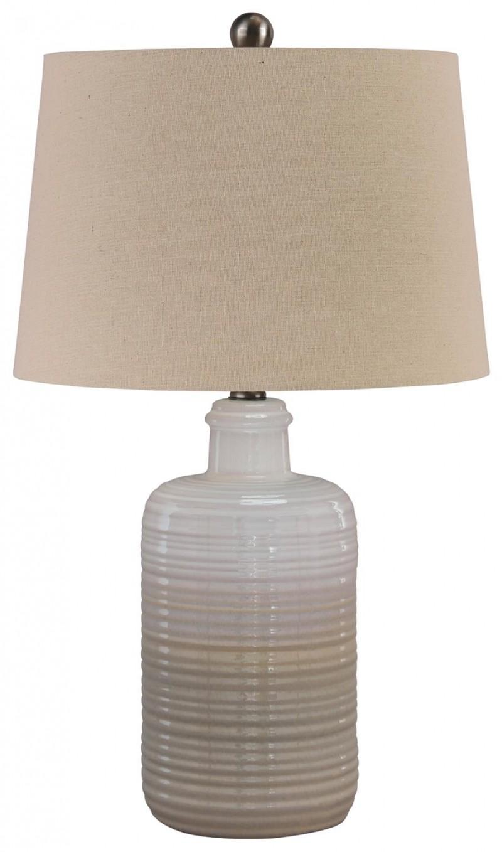 Signature Design Marnina Taupe Lamps