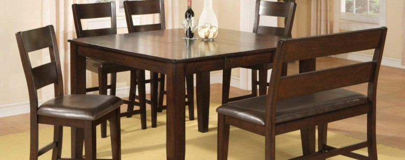 American Imports | PUB TABLE & 8 CHAIRS HARDY