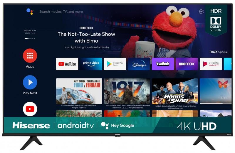 "Hisense   Hisense - 65"" A6G Series 4K UHD Android Smart TV"
