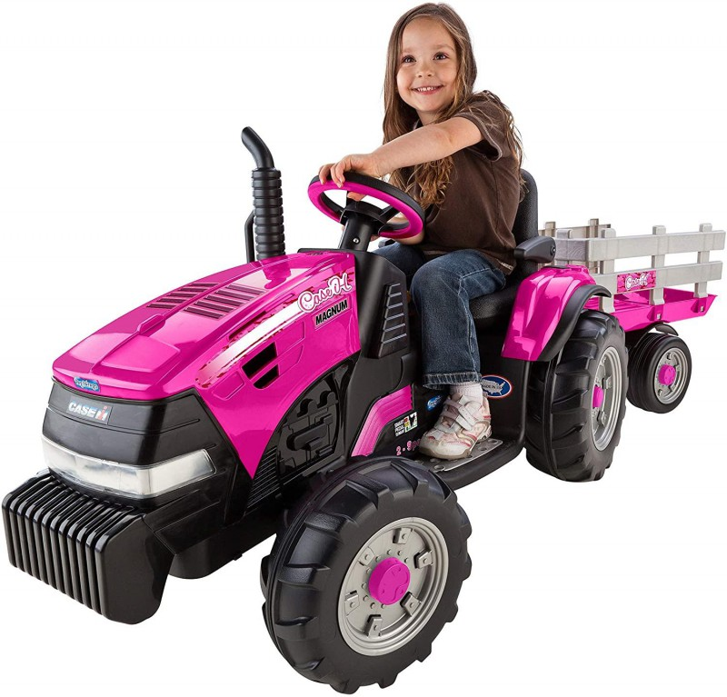 Peg Perego | Pink Tractor