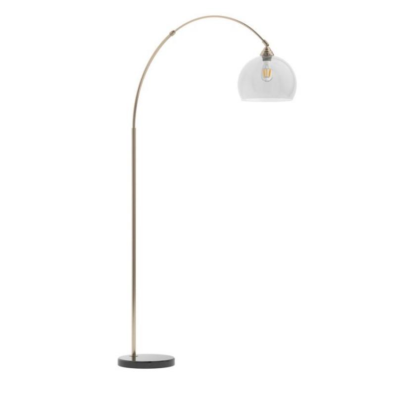 Coaster | gold floor lamp