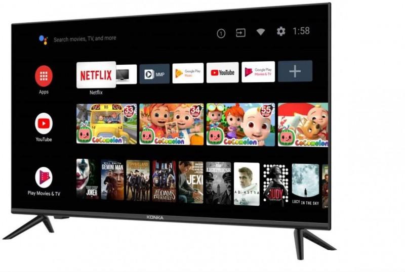 Konka   32 720P Android TV w/Voice Remote