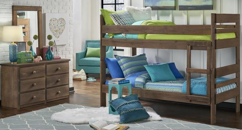 Simply Bunk Beds | LADDER CHESTNUT