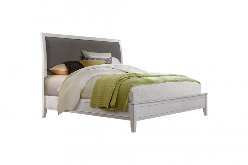 Martin Svensson Home | White & Grey King Bed