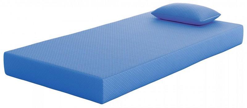 Ashley Sleep | iKidz Blue Full Mattress and Pillow