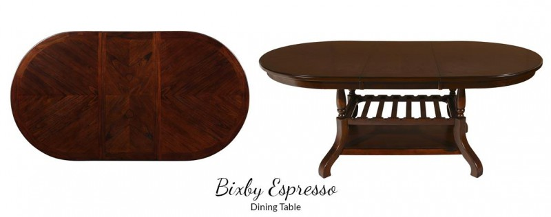 American Imports   DINING TABLE BIXBY ESPRESSO