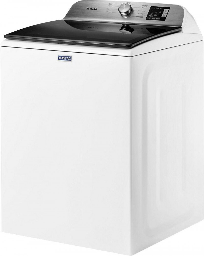 Maytag | 4.8 CF Deep Fill White Washer