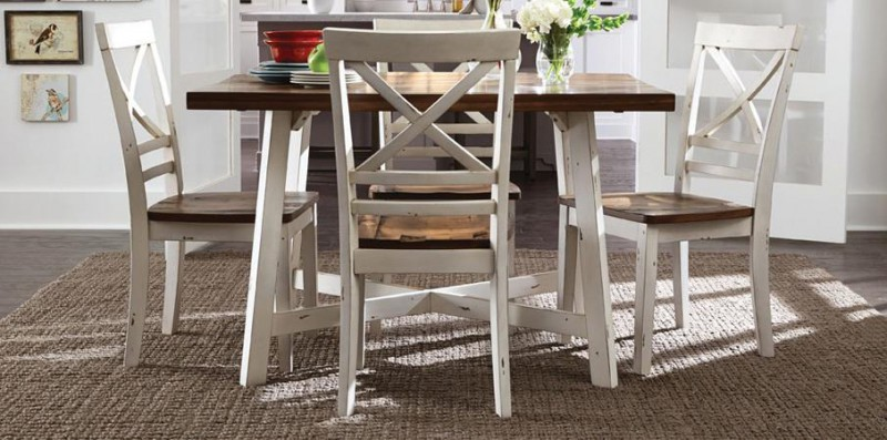 American Imports | DINING TABLE W/4 CHAIRS AMELIA