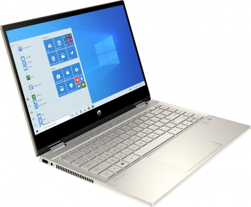 """HP   HP - Pavilion x360 2-in-1 14"""" Touch-Screen Laptop - Intel Core i5 - 8GB Memory - 256GB SSD - Warm Gold"""