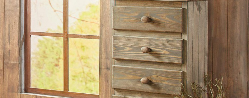 Simply Bunk Beds | CHEST 5 DRAWER MOSSY OAK