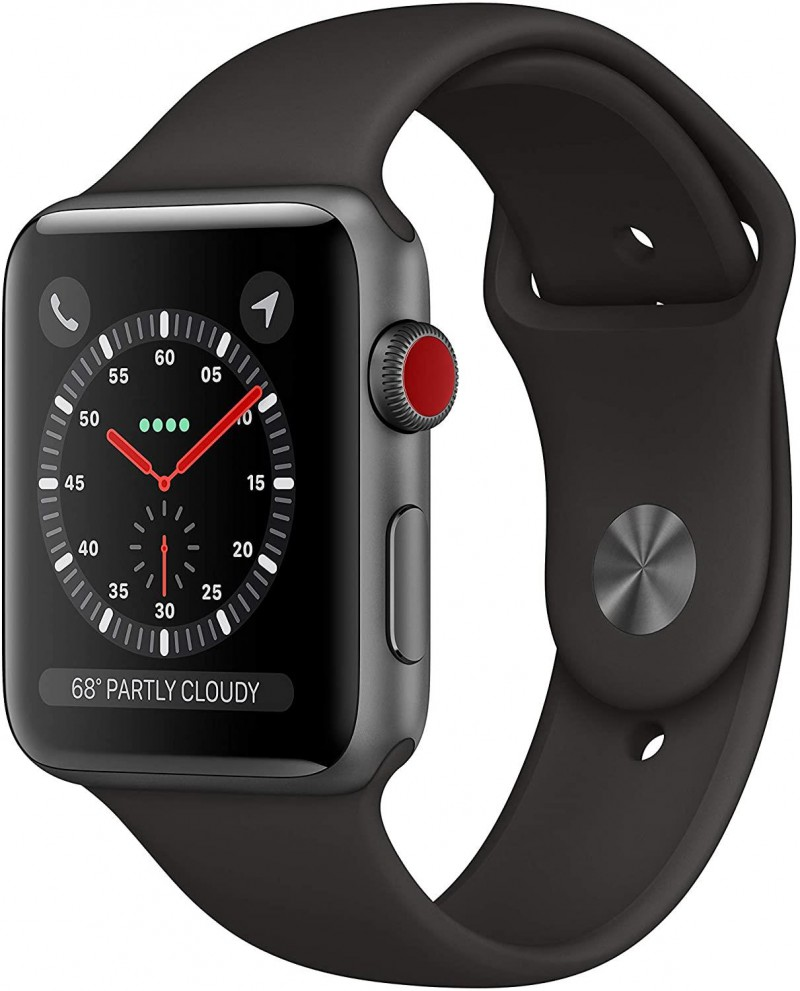 Apple Watch Series 3 42mm Space Gray Cellular