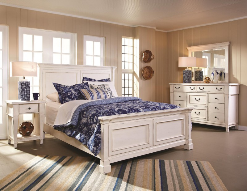 American Imports | STONEY CREEK QUEEN BED, DR, MR