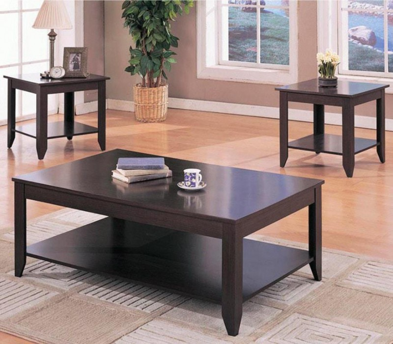 Stewart Cappuccino Coaster 3 pack tables