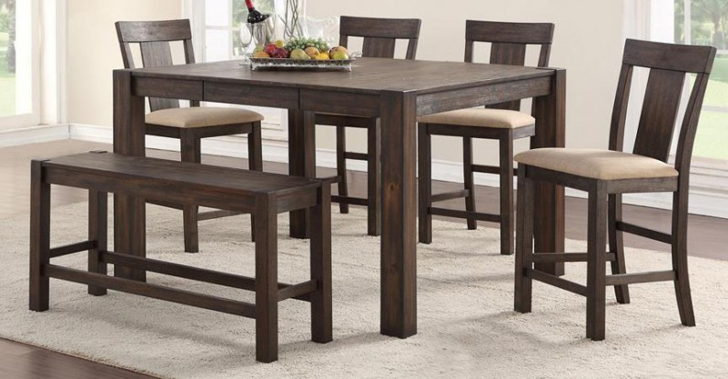 American Imports | PUB TABLE & 4 CHAIRS QUINCY