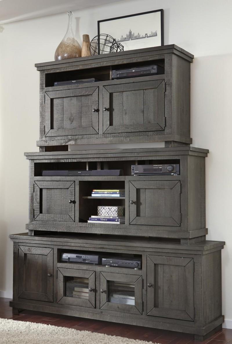 Progressive Furniture   Willow Grey TV Stand