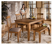 Rent to own dining room furniture, rent table, rent chairs, rent dinette set