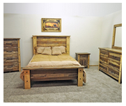 Million Dollar Rustic Queen Bedroom Set