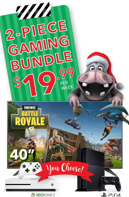 2 piece gaming bundle $19.99 per week