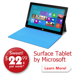 Surface Tablet Sweet! $22.99