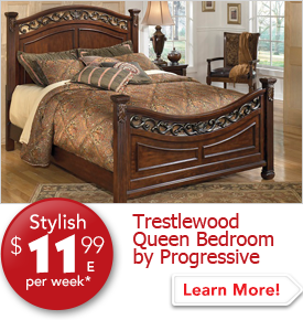 Trestlewood Queen Bedroom by Progressive