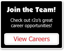Join the Team! Check out r2o's great career opportunities!