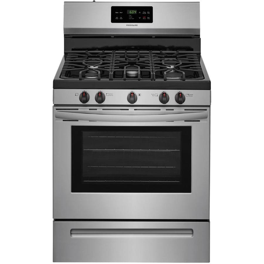 Frigidaire 5.0 cu. ft. Gas Range - Stainless Steel