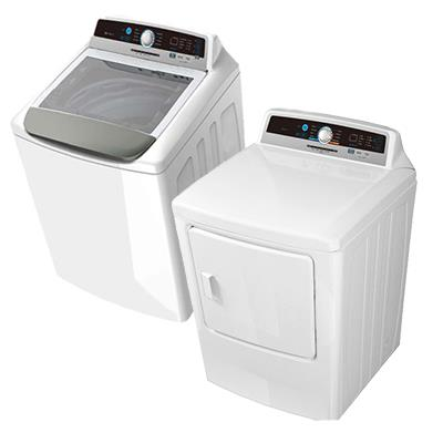 Rent-2-Own   Artic Wind 4.1 cu ft Washer with Impeller, Artic Wind 6.7 cu ft Electric Dryer