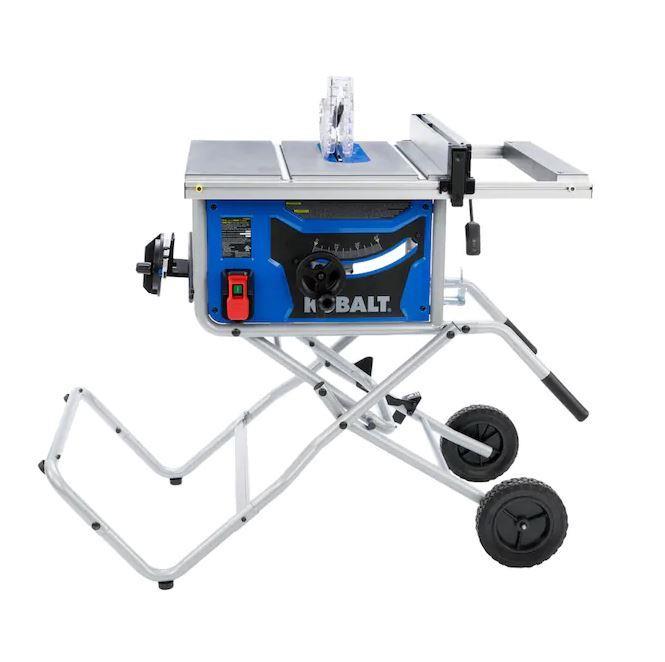 Kobalt | Kobalt 15 amp 10 inch Table Saw