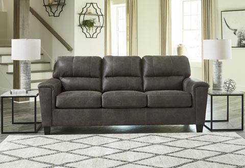 Signature Design | Navi Smoke sofa