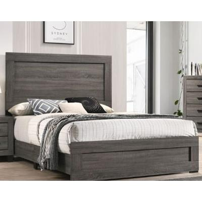 American Imports | Grey Queen bed