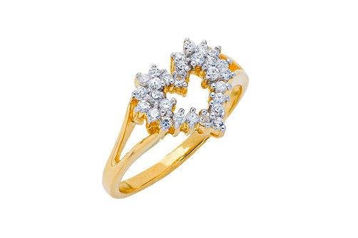 New Generations Diamond Heart Ring