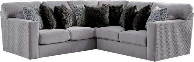 Jackson Furniture Carlsbad Charcoal 2 PC Sectional