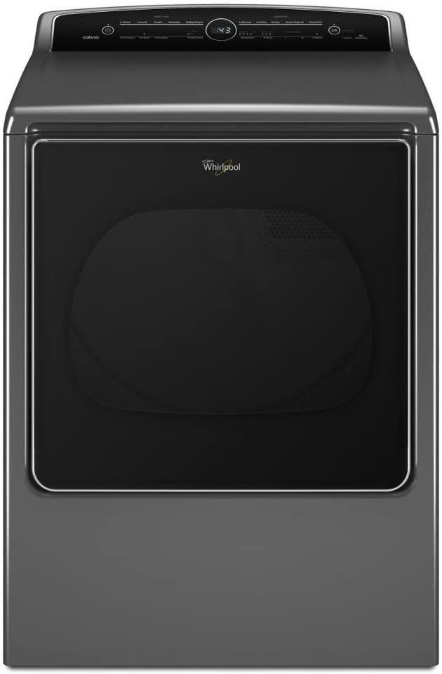 Whirlpool | 8.8 cu.ft.Cabrio® HE Steam Electric Dryer - Chrome