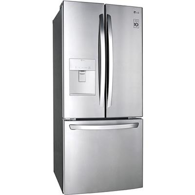 LG   22 Cu Ft Stainless French Door ice/water
