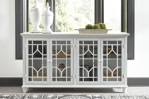 Signature Design | Dellenbury White Cabinet