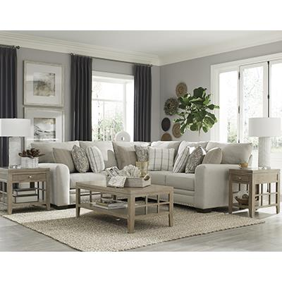 Jackson Furniture RSF Middleton Cement Sofa Sectional