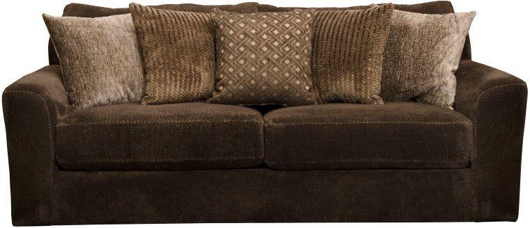 Jackson Furniture   Jackson Midwood Chocolate Sleeper Sofa