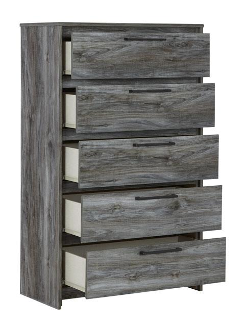 Signature Design | Baystorm Gray Five Drawer Chest
