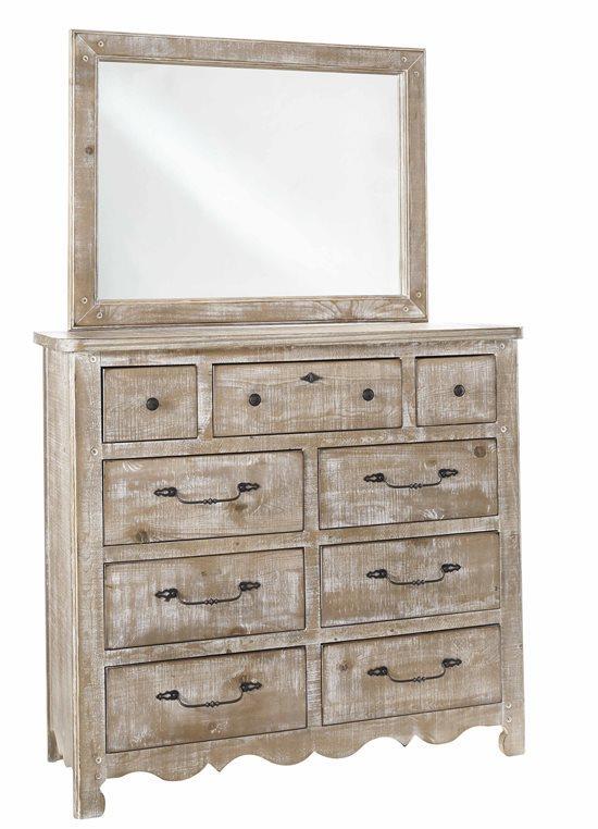 Progressive Furniture   Chatsworth Mirror Only