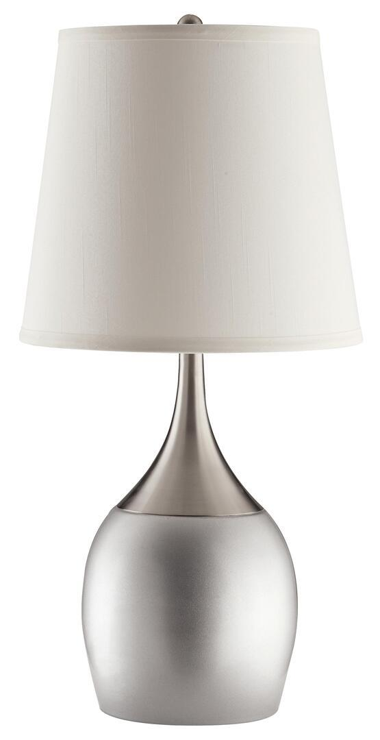 Coaster Silver Lamps