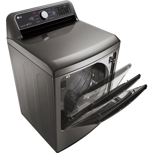 LG | 7.3 CF Gas Dryer Thin Q