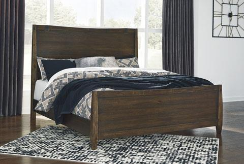 Signature Design | Kisper Brown Panel King Bed