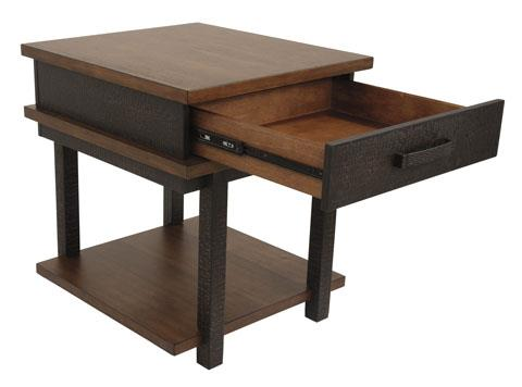 Signature Design | Stanah Two Tone Rectangular End Table