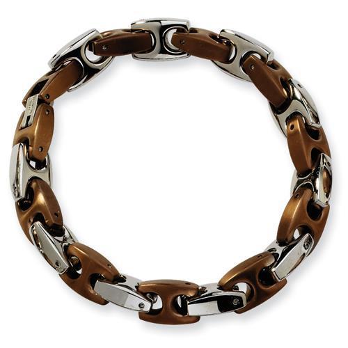 New Generations Stainless Steel Brown Bracelet