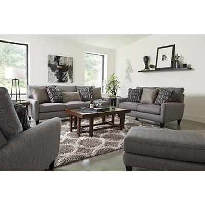 Jackson Furniture Ackland Charcoal SOFA and LOVESEAT