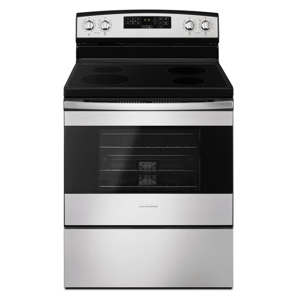 Amana 4.8 cu. ft. Electric Range with Self-Cleaning Oven - Stainless Steel